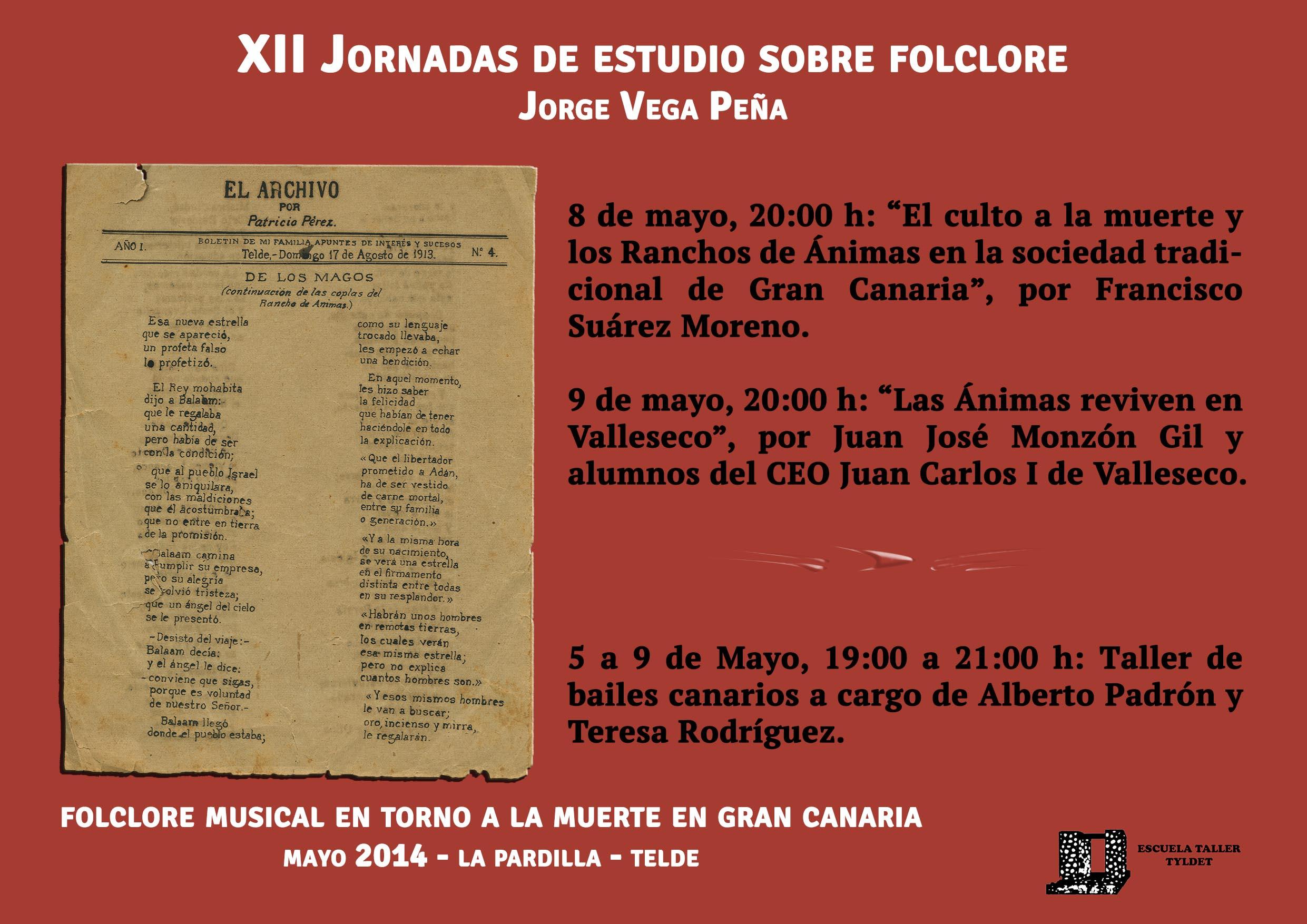 Cartel de las Jornadas. 2014