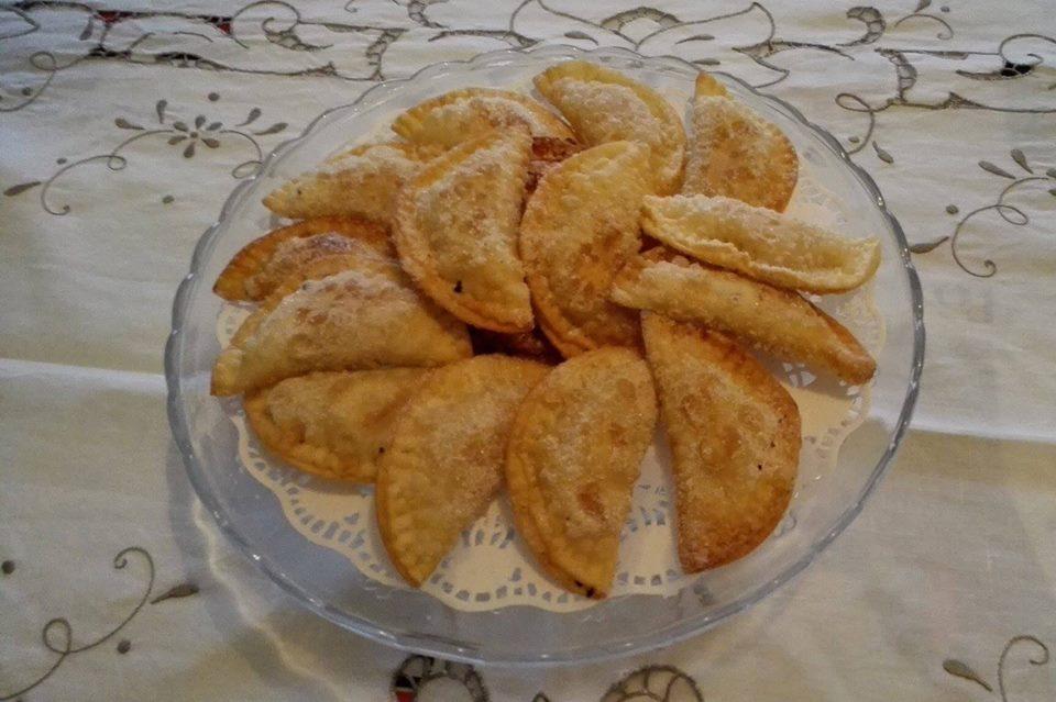 Truchas de almendra. (Fotografía de Marisa Vilanova)